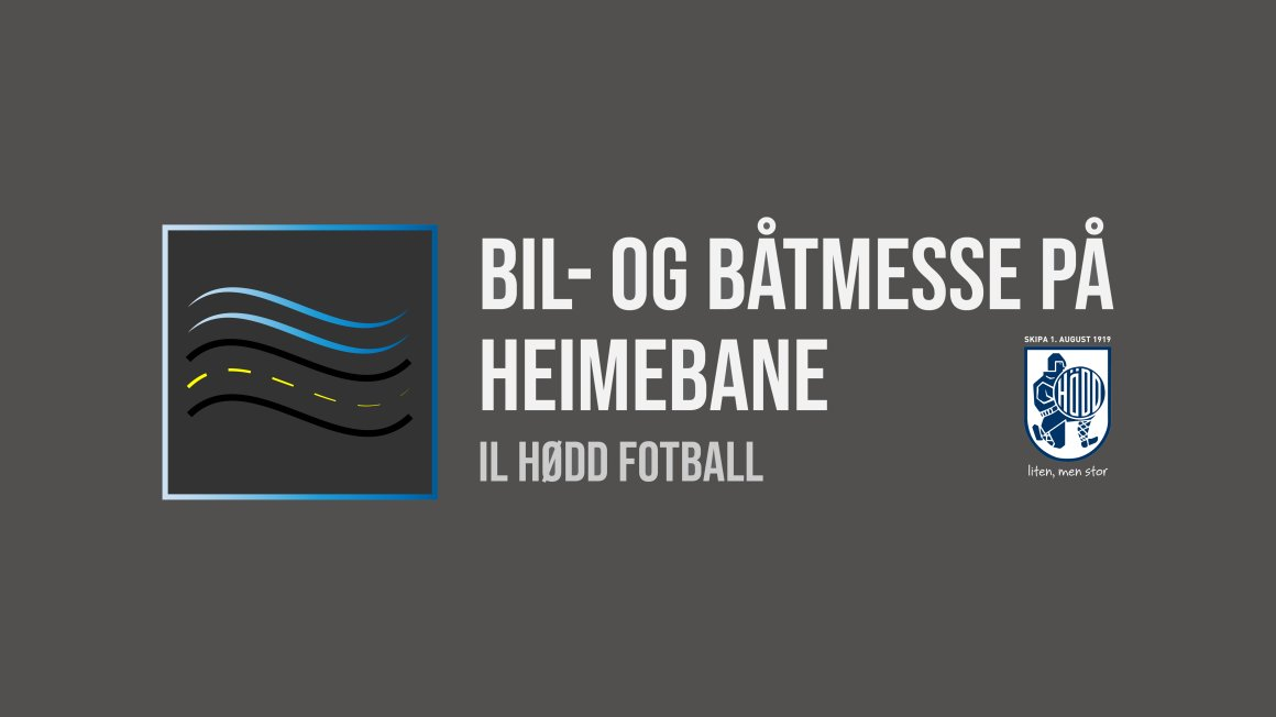 BIL- OG BÅTMESSE PÅ HEIMEBANE